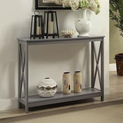 contemporary console table hallway living room accent