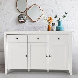 FurnitureR Contemporary Sideboard Buffet Table Cabinet with
