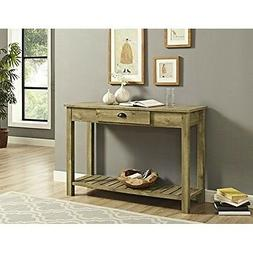 "WE Furniture Country Style Entry Console Table - 48"", Barnwo"
