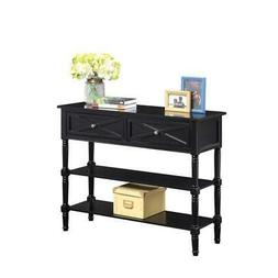 Convenience Concepts Country Oxford 2 Drawer Console Table i