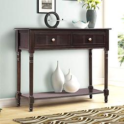 Harper&Bright Designs WF039593PAA Console Table Sideboard Tr