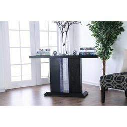 Furniture of America Dane LED Light Console Table