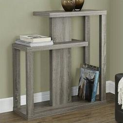 Monarch Specialties Dark Taupe Reclaimed-Look 32x12 Hall Con