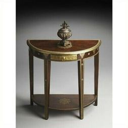 Butler Demilune Console Table - Artifacts