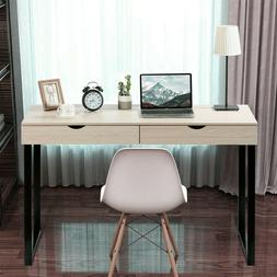 Dressing Table Mirrored Console Table Vanity Desk Computer D