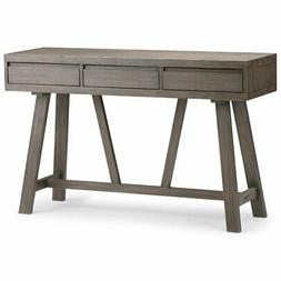 Simpli Home Dylan Solid Wood Hallway Console Table, Driftwoo
