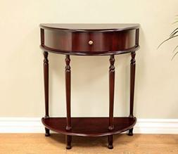 Frenchi Home Furnishing End Table/Side Table Espresso Finish