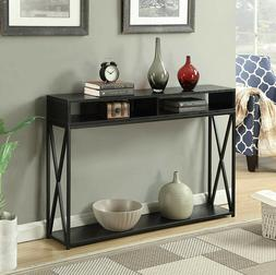 Entry Table Rustic Console Furniture Accent Entryway Hallway