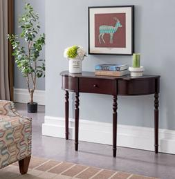 Kings Brand Furniture - Entryway Console Sofa Table with Dra