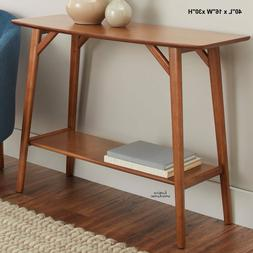 Entryway Table Console Hallway Sofa Accent Shelf Solid Wood