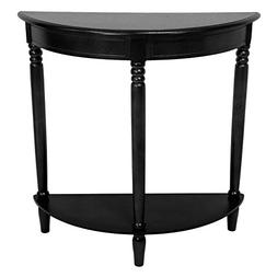 European Style Delux Design 31 Inches Half Round Console Tab