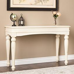 Farmhouse Sofa Table Provides Classic Style And Function. 48