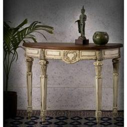 farmhouse traditional sofa console table accent side