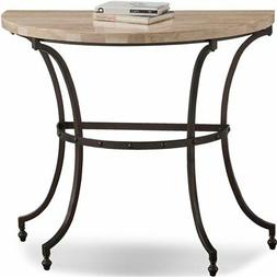 Leick Furniture Favorite Finds Console Table in Beige Bronze