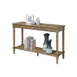 Convenience Concepts French Country Console Table with Drawe