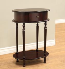Frenchi Home Furnishing Finish End Table/Side Table, Espress