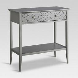 Threshold Fretwork Console Table - Elephant