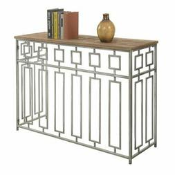 Convenience Concepts Gold Coast Times Square Console Table,