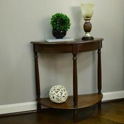 "Décor Therapy FR1478 Half Round Console Table 28.25"" x 11.8"