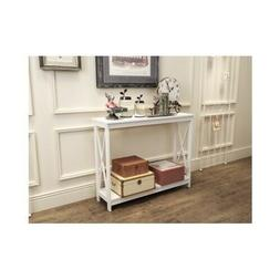 Hallway Accent Table Console Furniture Living Room Modern En