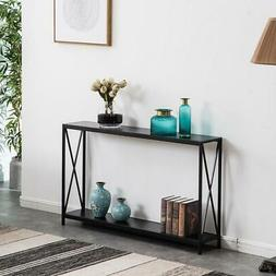 Hallway Entry Table Storage Shelves Entryway Console Display