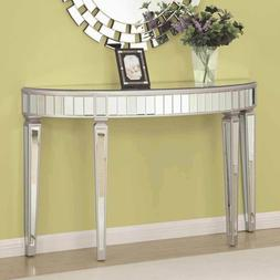 hallway entryway mirrored mirror console sofa table