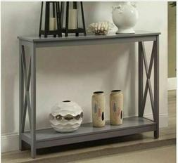 Console Table For Entryway Hallway Sofa Narrow Small TV Cont