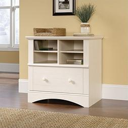 Sauder Harbor View 1 Drawer Lateral Wood File Cabinet in Ant