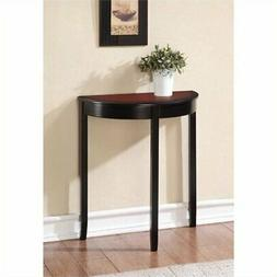 Hawthorne Collection Console Table in Black Cherry