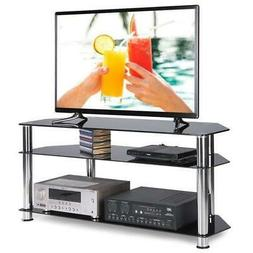 """High Gloss 32"""" - 60"""" TV Stand Unit Cabinet Media Center Cons"""