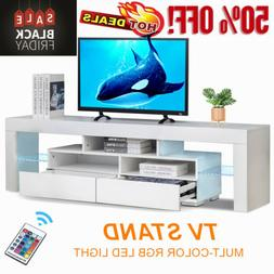63'' TV Stand Unit Cabinet Console Table RC with Colourful L