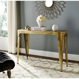 Safavieh Home Collection Classic Gold Iron Console Table, Bu
