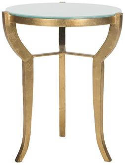 Safavieh Home Collection Ormond Gold Accent Table