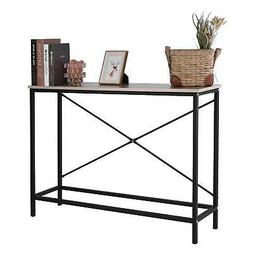 Home Console Table Wood Entryway Sofa Accent Hallway Living