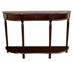 Home Craft Console Sofa Table with Drawer