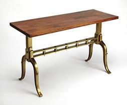 hugo industrial chic console table