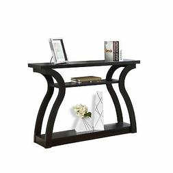 Monarch Specialties I 2445 47in Wide Wood Hall Console Table