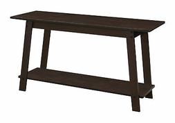 Monarch Specialties I 2735 TV STAND-42 L, Cappuccino