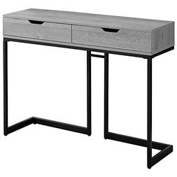 Monarch Specialties I 3519 Accent, Console Table, Grey