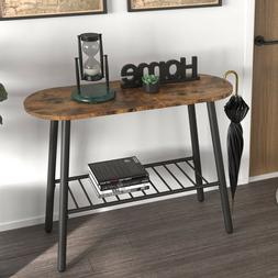 IRONCK Industrial Console Table for Entryway Hallway Table w