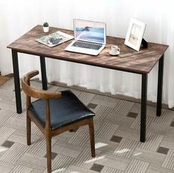 Industrial Home Office Computer Desk Gaming Study Writing Ta