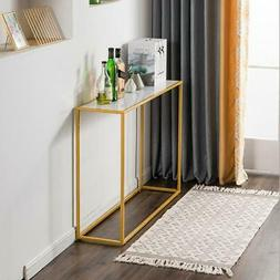 Industrial Side Table Hallway Modern Console Furniture Entry