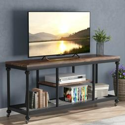 Tribesigns Industrial TV stand Rustic Media Console Table fo