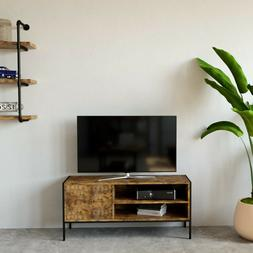 industrial tv stand tv console television media