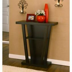 ioHOMES Camrose Entry Way/Console Table, Cappuccino