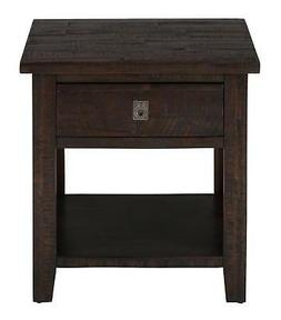 "Jofran: 704-3, Kona Grove, Square End Table, 24""W X 24""D X 2"