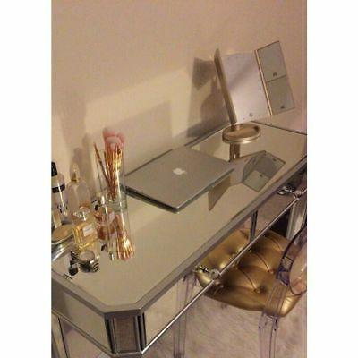 2 Mirrored Vanity Make-Up Silver