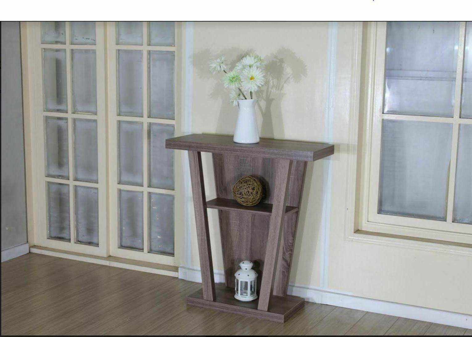 2-Shelf Hallyway Table - Taupe