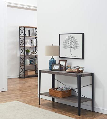 O&K Furniture 2-Tier Shelf for and