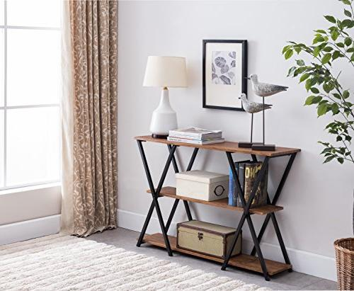 3 frame console sofa table